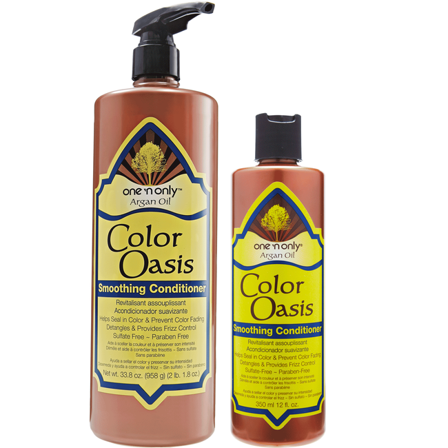 Argan Oil Color Oasis Smoothing Conditioner