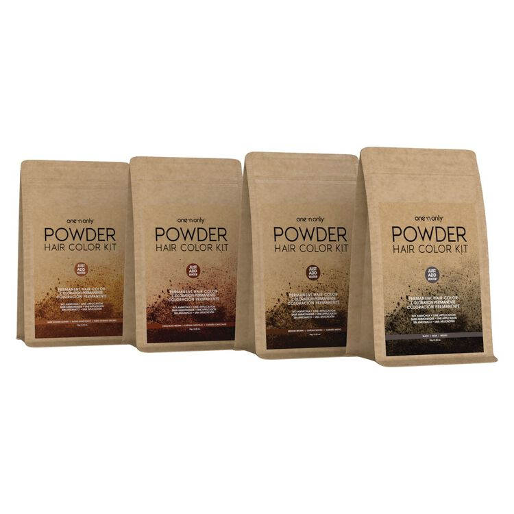 Powder Permanent Hair Color Kit