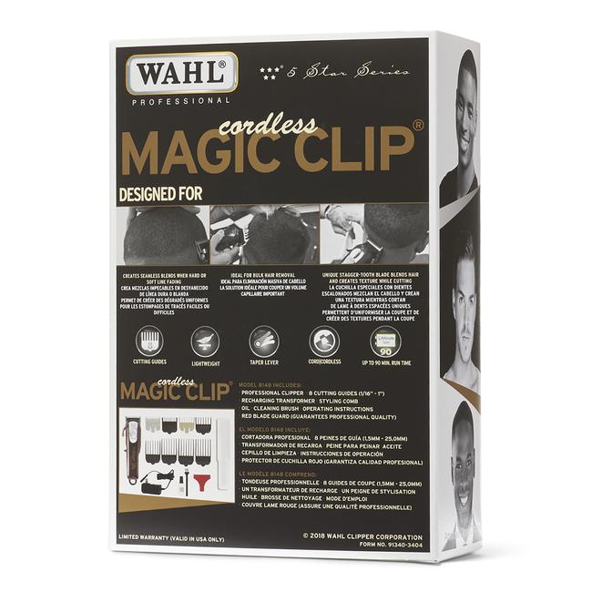 Cordless Magic Clip