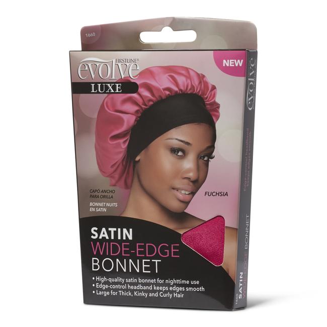 Satin Wide Edge Bonnet