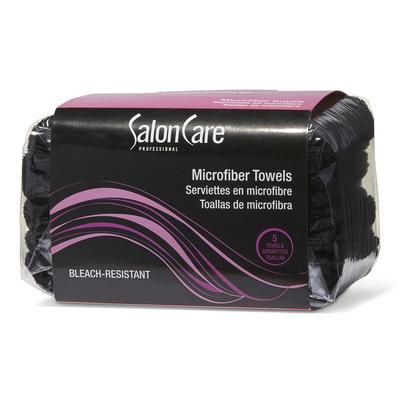 Black Microfiber Towels