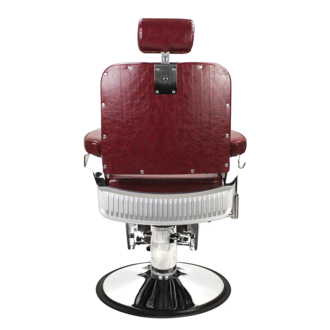Lincoln JR Barber Chair Crimson