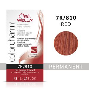 Red Color Charm Liquid Permanent Hair Color