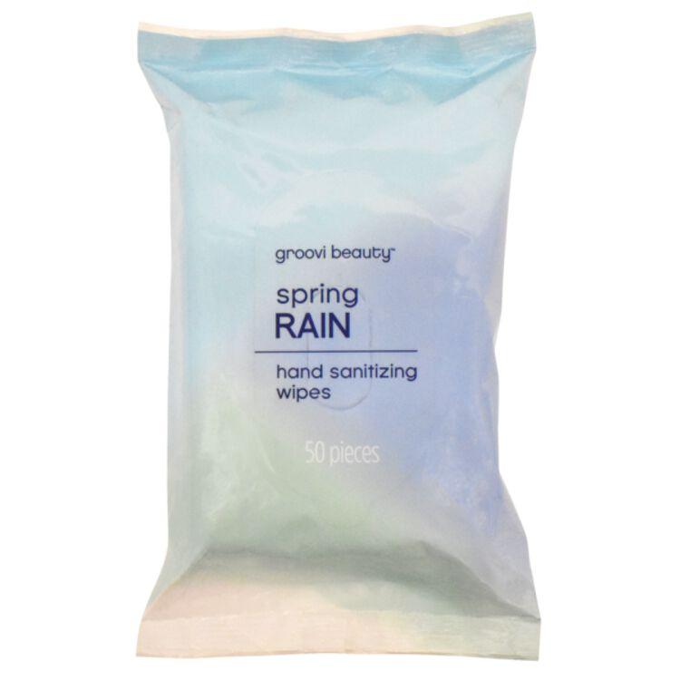 Hand Sanitizing Wipes Spring Rain 50 Pack