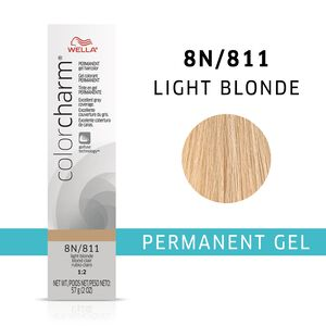 Light Blonde Color Charm Gel Permanent Hair Color