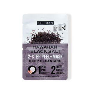 2-Step Peel Pad + Sheet Mask Hawaiian Black Salt