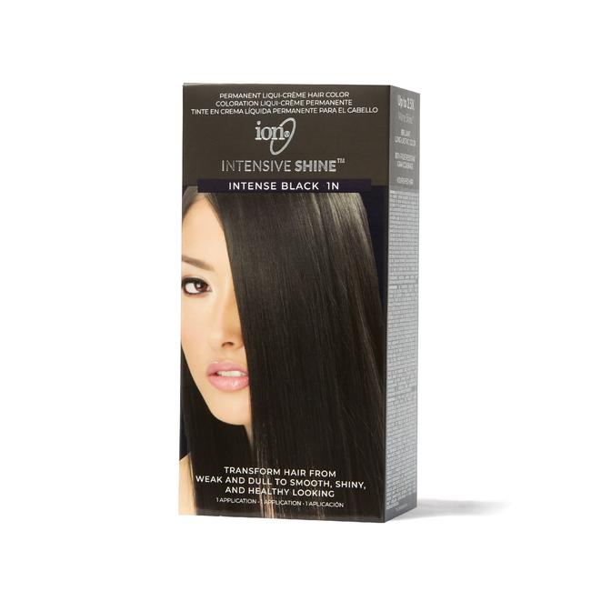 Intensive Shine Hair Color Kit Intense Black 1N