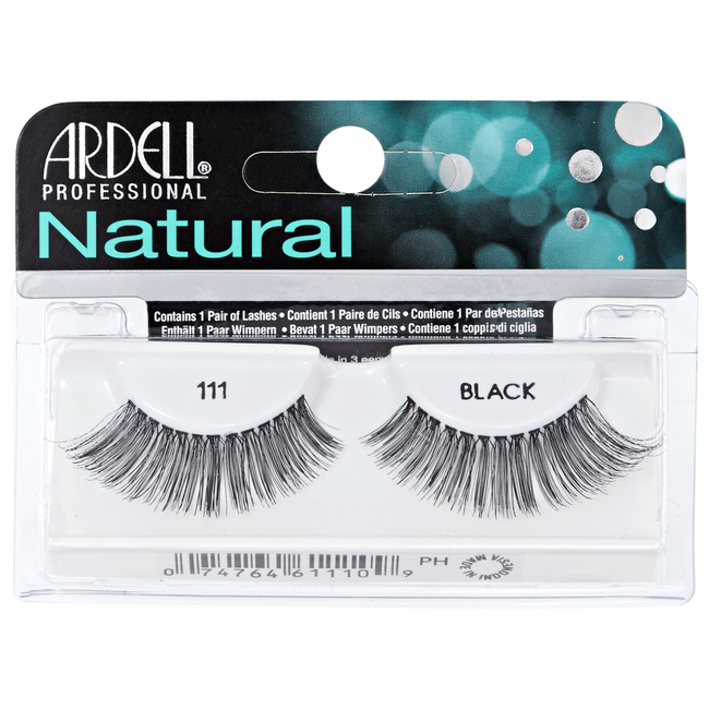 f2845885e35 Natural #111 Black Lashes by Ardell | Eyelash Extensions | Sally Beauty