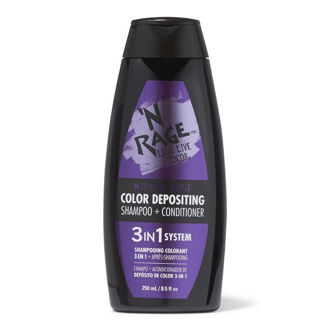3 In 1 Color Depositing Shampoo & Conditioner N triging Purple