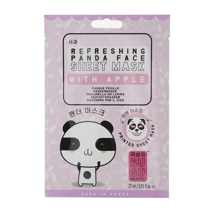 Printed Panda Sheet Mask
