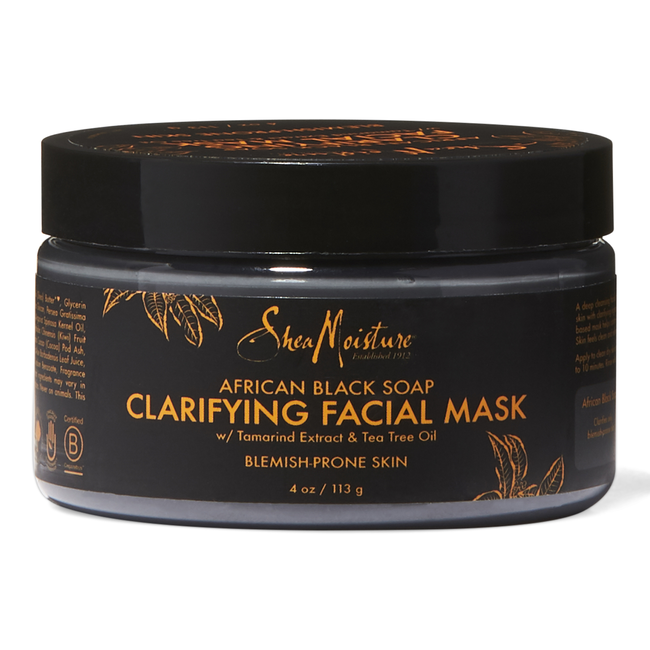 African Black Soap Facial Mask