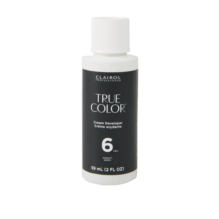 True Color 6 Volume Cream Developer
