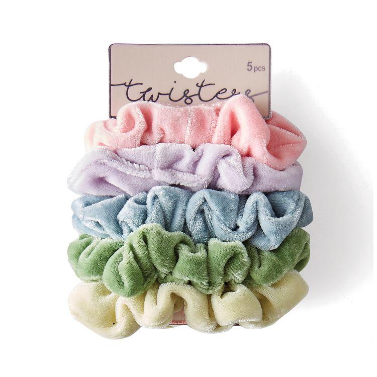 Colored Scrunchie Set