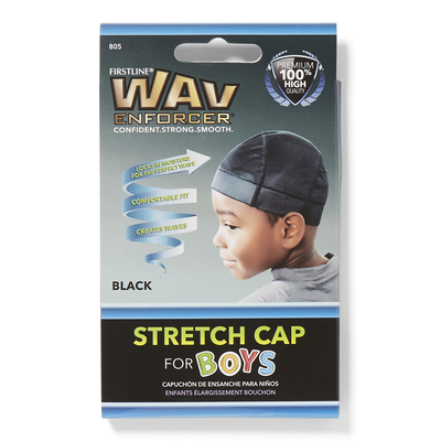 Kids Black Do Rag