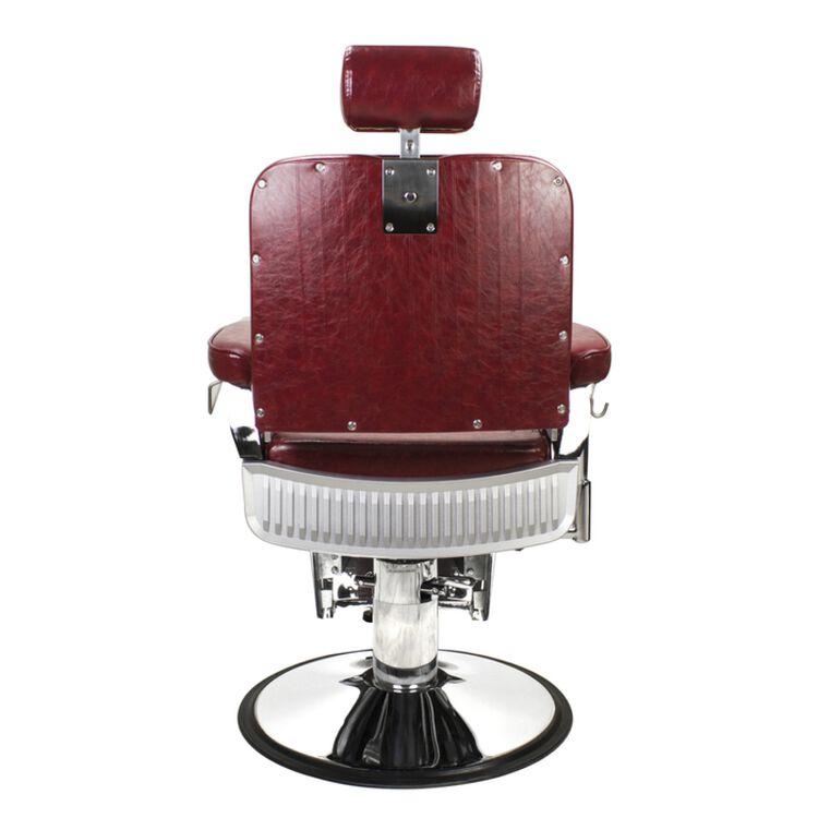 Lincoln JR Barber Chair Crimson