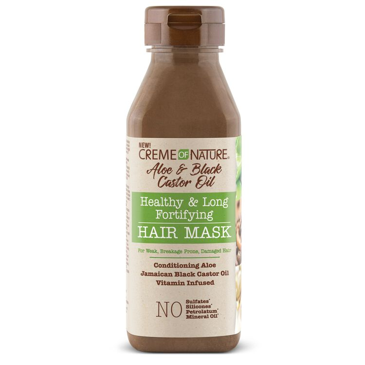 Aloe & Black Castor Oil Healthy & Long Fortifying Hair Mask