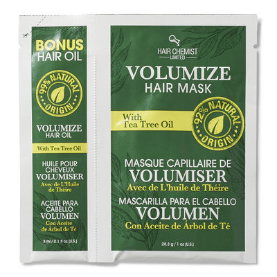 Volumize Hair Oil & Mask Packette with Tea Tree Oil