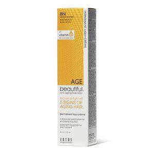 8N Medium Blonde Permanent Liqui-Creme Hair Color