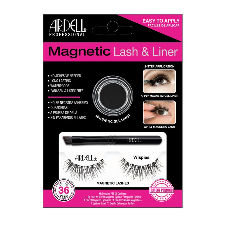 Magnetic Lash & Liner Wispies Lash Kit
