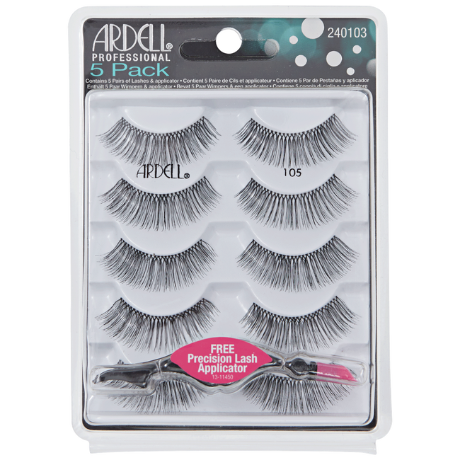 5 Pack #105 Lashes