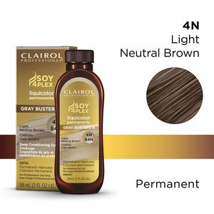 4N/84N Light Neutral Brown LiquiColor Permanent Hair Color