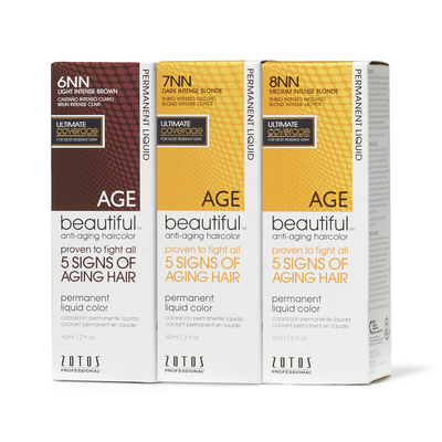 Anti Aging Permanent Liquid Hair Color NN Shades