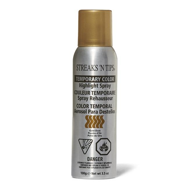 Gold Dust Temporary Color Highlight Spray
