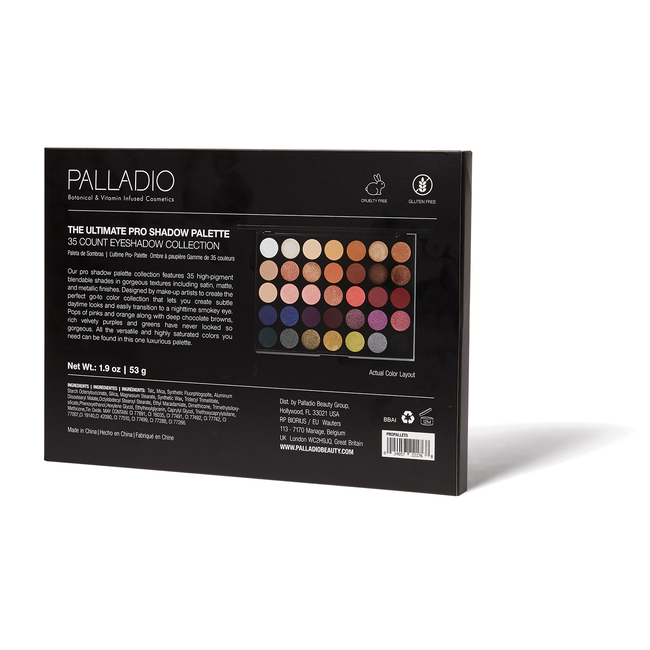 Ultimate Pro Shadow Palette