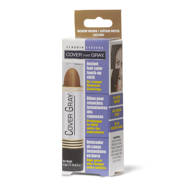 Medium Brown Temporary Color Touch Up Stick