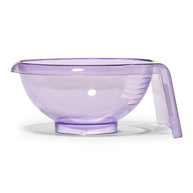 Clear Purple Tint Bowl