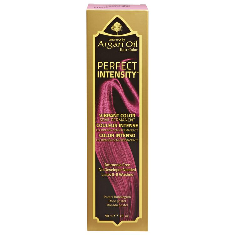 Argan Oil Pastel Bubblegum Semi Permanent Hair Color