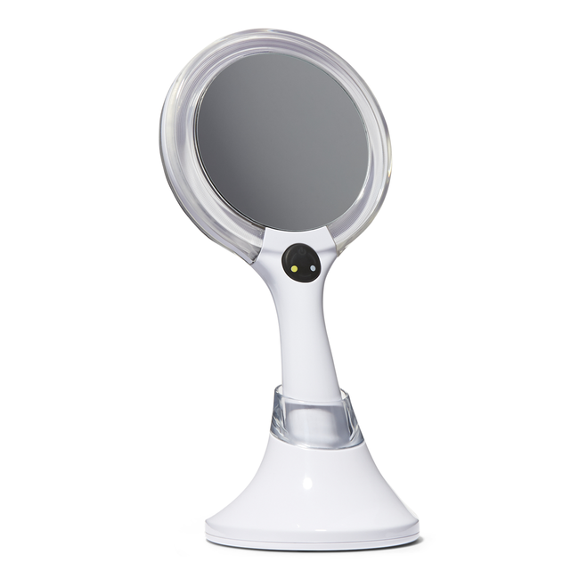 LED Handheld Rechargeable Makeup Mirror