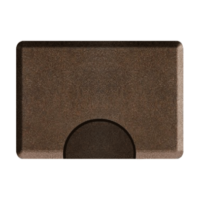 Granite Copper Mat with Chair Depression