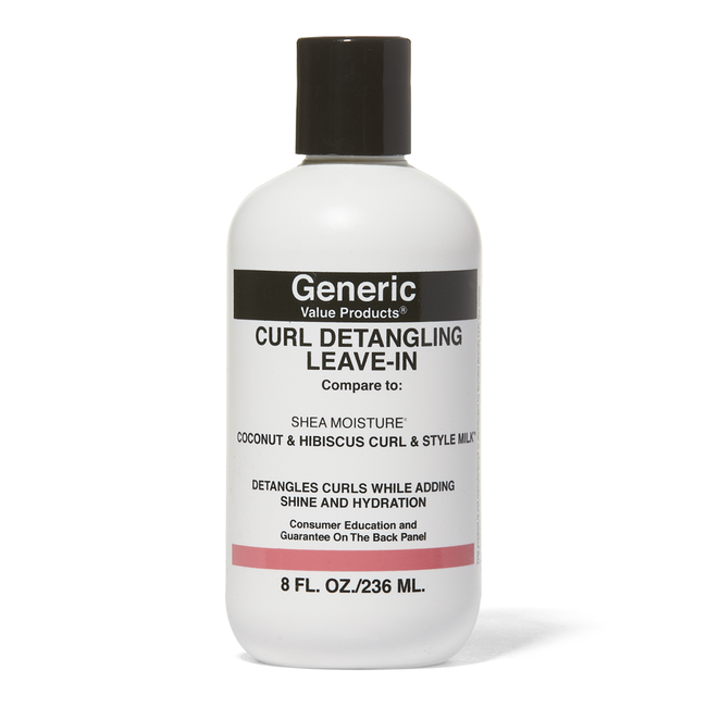 GVP Curl Detangler Leave In Compare to Shea Moisture Coconut & Hibiscus Curl & Style Milk