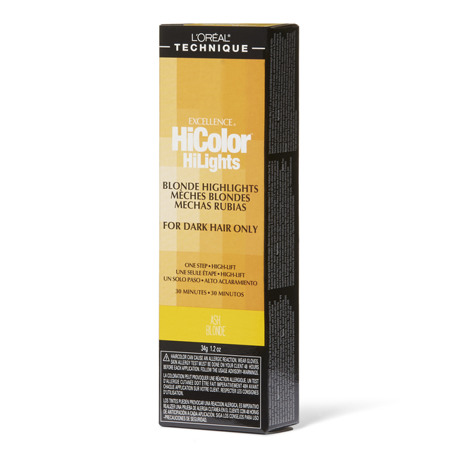 HiColor Blonde HiLights Ash Blonde Permanent Creme Hair Color