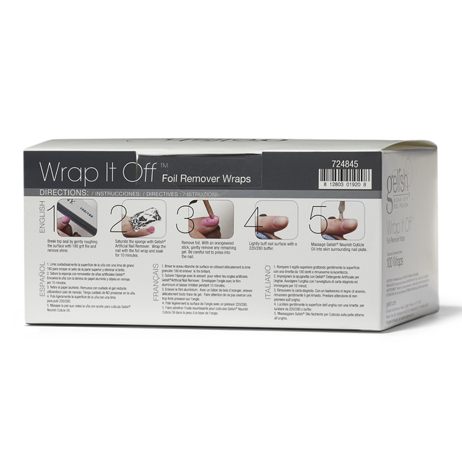 Foil Wrap Removal System
