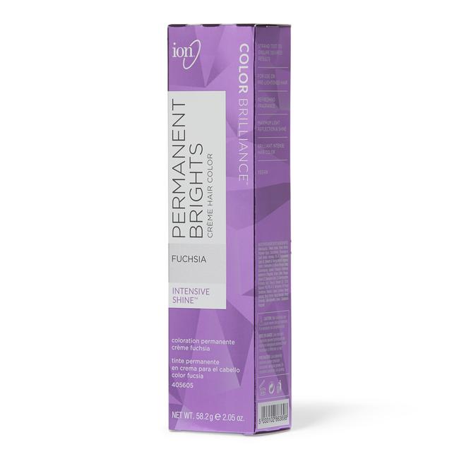 7fd62d3dbe ion Color Brilliance Permanent Brights Creme Hair Color Fuchsia