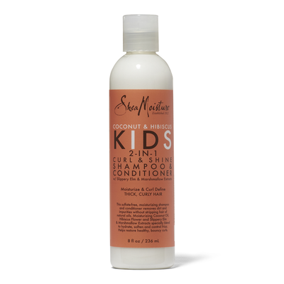 Kids Curl & Shine 2-in-1 Shampoo & Conditioner