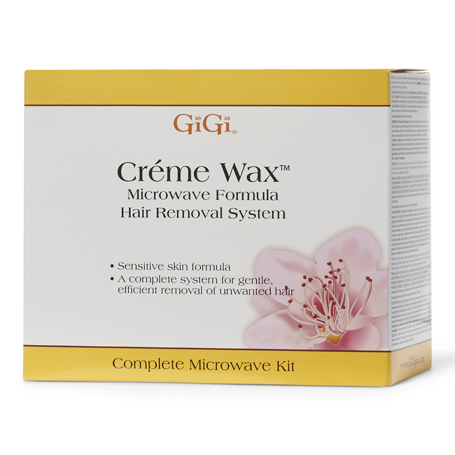 Microwave Creme Wax Hair Removal System By Gigi