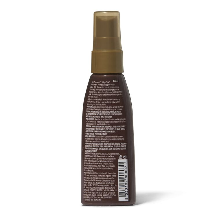 MegaSilk Olive Heat Protection Travel Spray