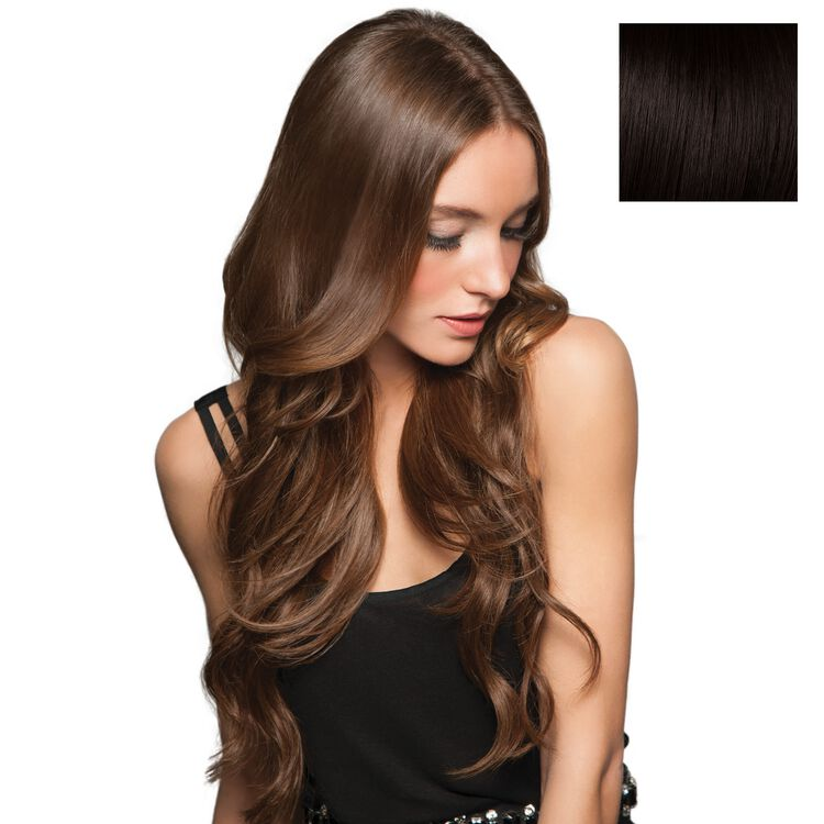 20 Inch Invisible Extension Midnight Brown