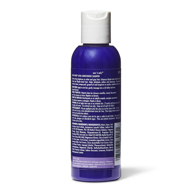 One 'n Only Shiny Silver Ultra Conditioning Travel Shampoo ...