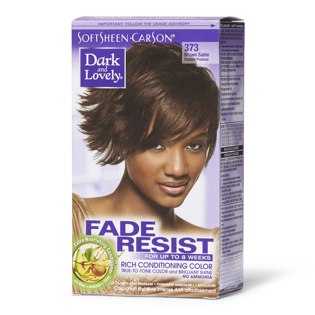 Fade Resistant Brown Sable Permanent Hair Color