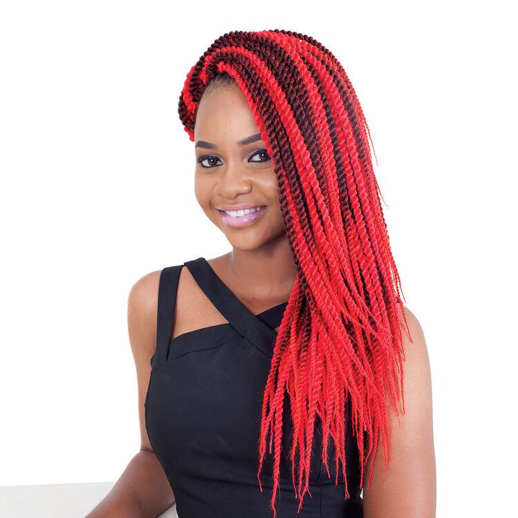 3X Senegal Twist 18 Inch Crochet Hair