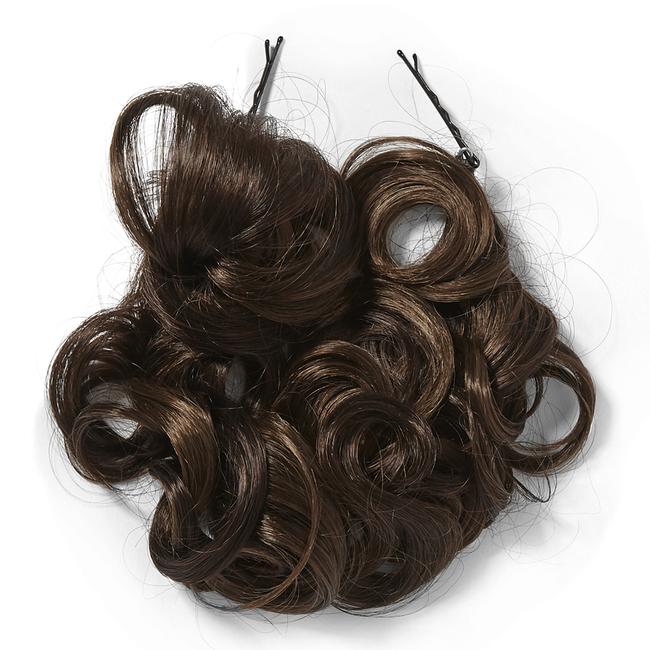 Curly Twirl Up Medium Brown