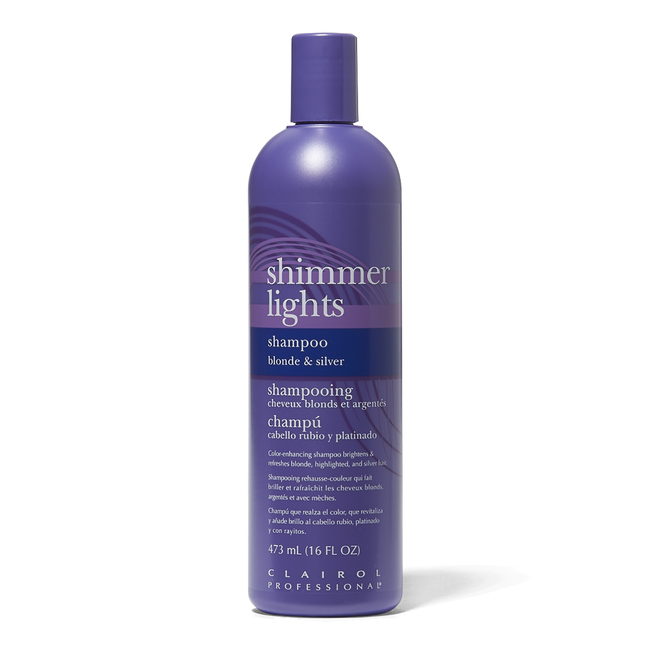 newest collection 3d31c 64653 Shimmer Lights Conditioning Shampoo for Blonde   Silver 16 oz. by Clairol  Professional   Shampoo   Sally Beauty