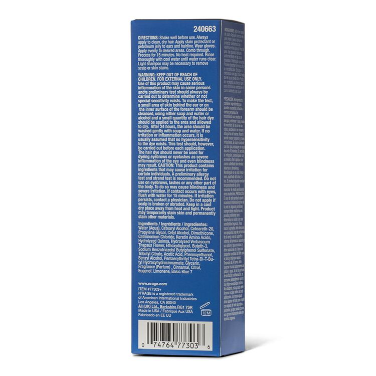 Demi Permanent Cobalt Blue Hair Color