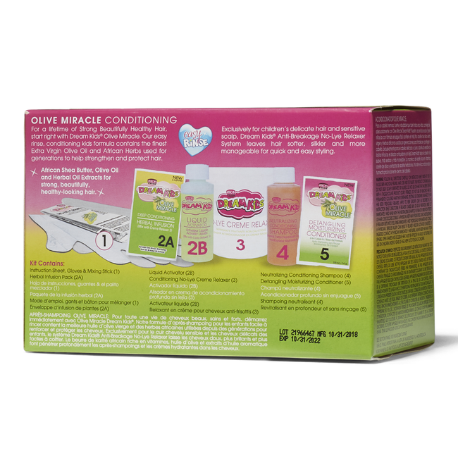 Olive Miracle Regular Relaxer Kit