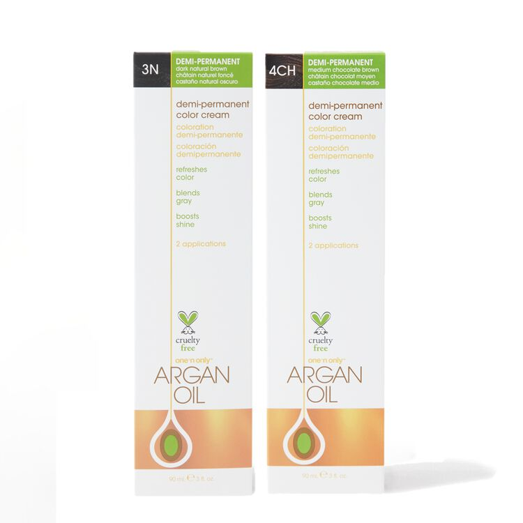 Argan Oil Demi Permanent Color Cream
