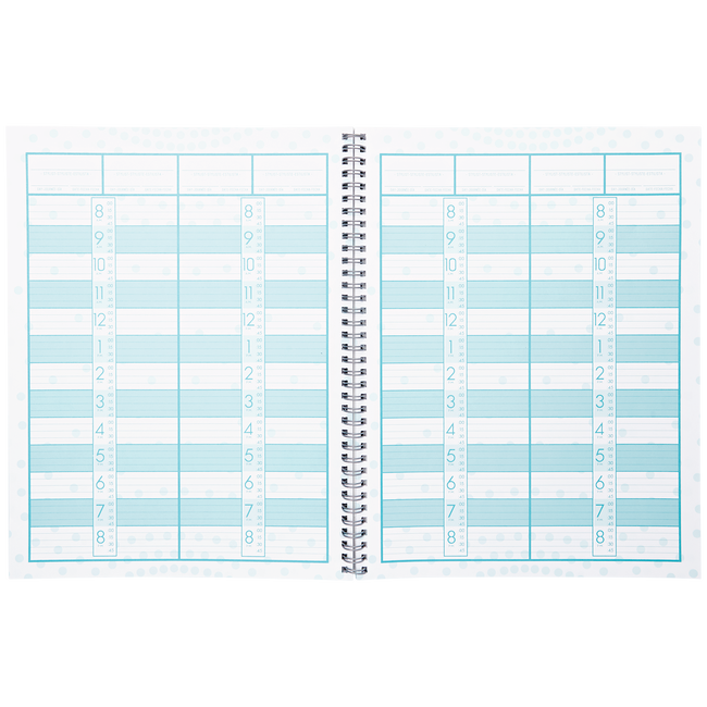 Four Column Appointment Book